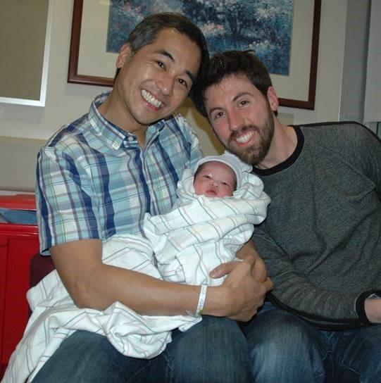 baby through surrogacy Ezri