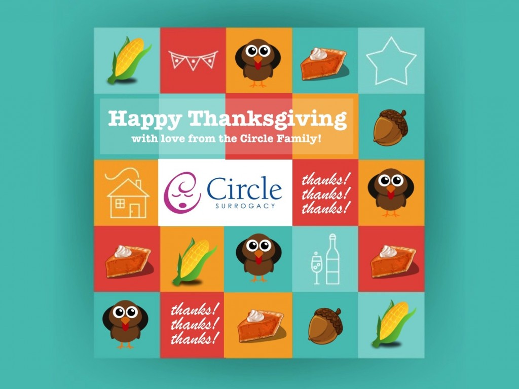 circle surrogacy thanksgiving icon