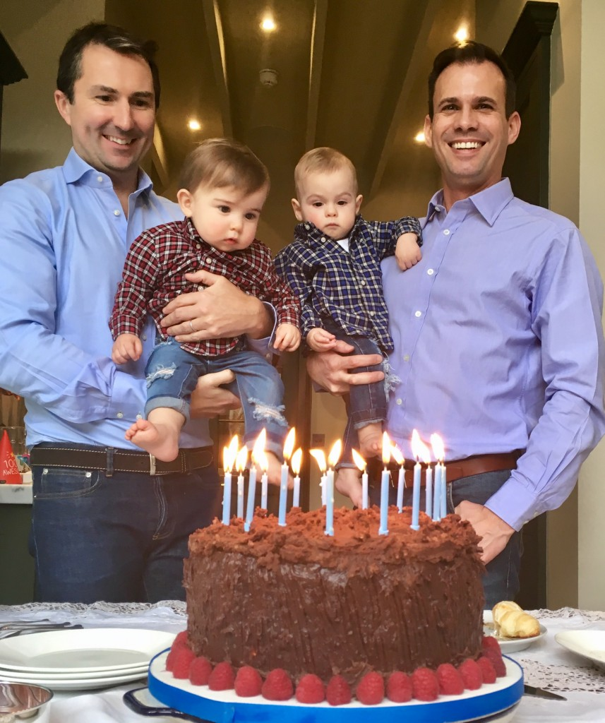 Birthday for Twins Born Through Circle Surrogacy