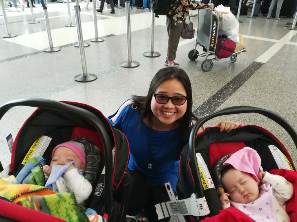 circle surrogacy babies at the airport