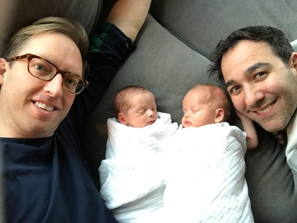 surrogacy birth announcement